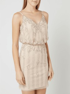 Sukienka Lace & Beads na ramiączkach mini