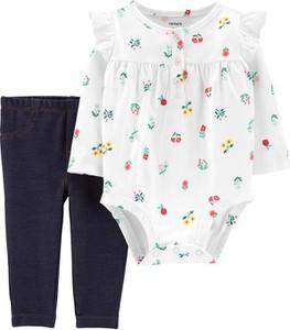 Body niemowlęce Carter's w kwiatki