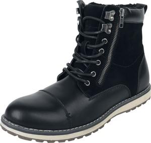 Czarne buty zimowe