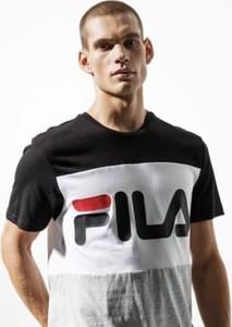 T-shirt Fila z nadrukiem z krótkim rękawem