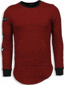 Sweter Justing w stylu casual z wełny