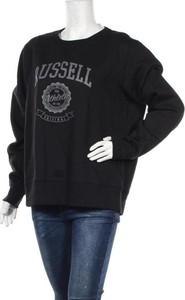 Bluzka Russell Athletic z okrągłym dekoltem z długim rękawem