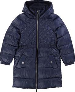 Granatowy płaszcz dziecięcy Carrèment Beau