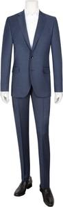 Niebieski garnitur Tom Rusborg