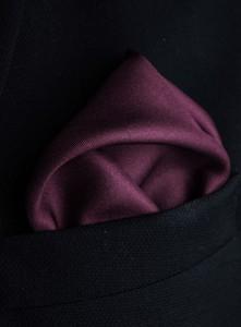 Czarna poszetka guns&tuxedos