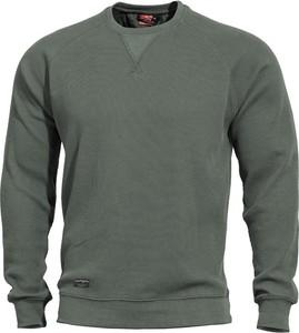 Zielona bluza Pentagon w stylu casual z bawełny
