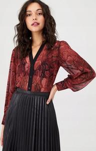 Bluzka Oasis z dekoltem w kształcie litery v z długim rękawem