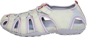 Sandały Geox z płaską podeszwą w sportowym stylu