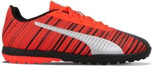 Czerwone buty sportowe Puma sznurowane