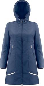 Granatowy płaszcz Poivre Blanc w stylu casual