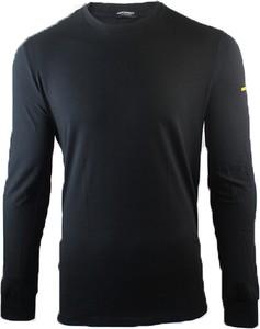 Czarna koszulka z długim rękawem Dsquared2 z bawełny z długim rękawem