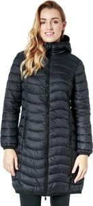 Granatowy płaszcz Feewear w stylu casual