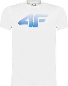 T-shirt 4F z bawełny w sportowym stylu