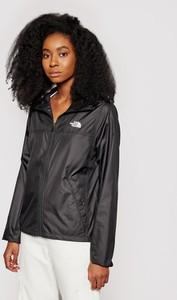 Czarna kurtka The North Face w sportowym stylu krótka