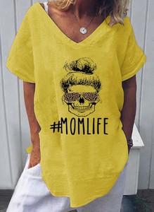 Żółta bluzka Cikelly