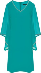 Niebieska sukienka VitoVergelis z szyfonu