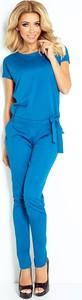 Niebieski kombinezon NUMOCO z jeansu