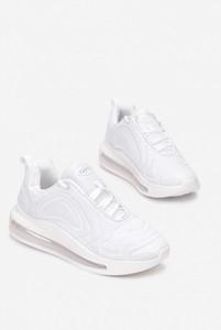 Buty sportowe Esclusivo ze skóry ekologicznej sznurowane na platformie