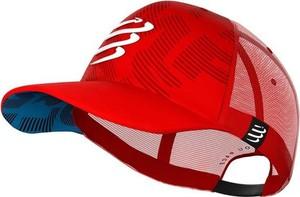 Czerwona czapka Compressport