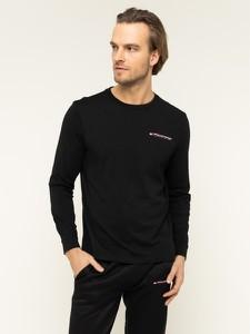 Czarna koszulka z długim rękawem Tommy Sport z długim rękawem