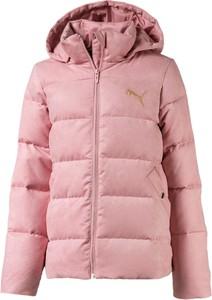 Różowa kurtka dziecięca Puma