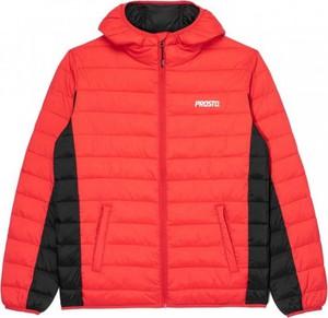Czerwona kurtka Prosto. krótka
