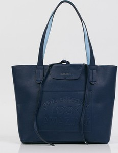 Niebieska torebka Monnari duża