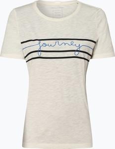 T-shirt Marc O'Polo z bawełny w stylu casual z okrągłym dekoltem