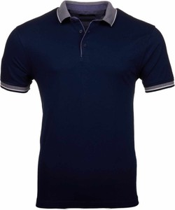 Niebieski t-shirt WARESHOP w stylu casual z krótkim rękawem