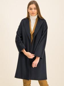 Granatowy płaszcz Marella