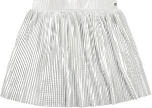 Srebrna spódniczka dziewczęca Esprit z tkaniny