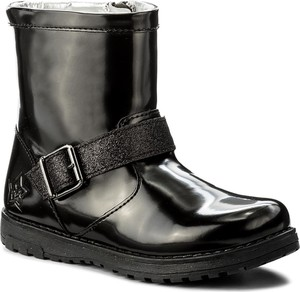 Szare buty dziecięce zimowe primigi