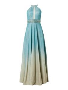 Miętowa sukienka Luxuar