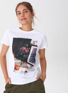 T-shirt House z krótkim rękawem z okrągłym dekoltem z nadrukiem