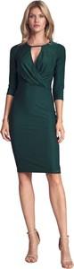 Sukienka Figl z długim rękawem kopertowa midi