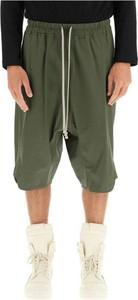 Spodnie Rick Owens z bawełny