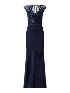 Granatowa sukienka Lipsy bez rękawów