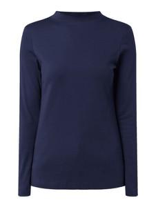 Granatowa bluzka Christian Berg Women z bawełny