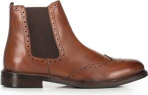 Brązowe buty zimowe Wittchen