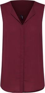 Czerwona bluzka Vero Moda bez rękawów
