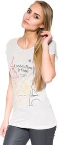 T-shirt Pepe Jeans z krótkim rękawem z okrągłym dekoltem w młodzieżowym stylu