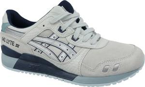 Buty sportowe ASICS sznurowane ze skóry