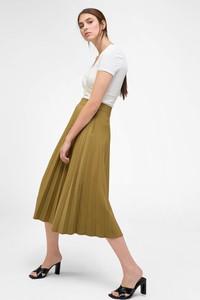 Zielona spódnica ORSAY midi z tkaniny
