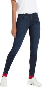 Granatowe jeansy Wrangler