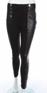 Czarne spodnie Ashley Brooke w stylu casual