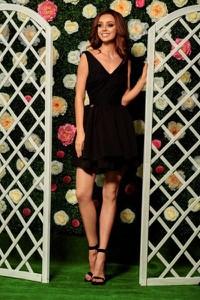 Sukienka Lemoniade gorsetowa z dekoltem w kształcie litery v mini