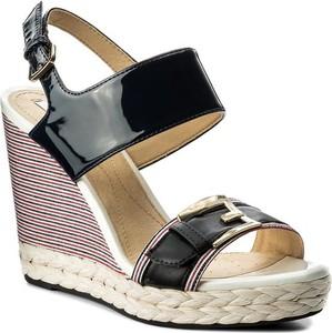 Sandały Geox z tkaniny