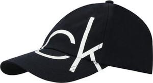 Czarna czapka Calvin Klein