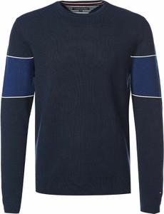Granatowy sweter Tommy Jeans z bawełny w stylu casual