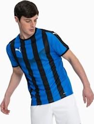 Niebieski t-shirt Puma z tkaniny
